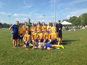 u12 girls tourny
